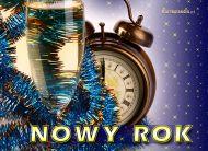 eKartki Nowy Rok Wybija Nowy Rok,