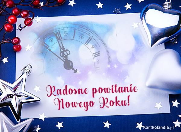 Radosne powitanie Nowego Roku