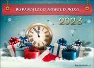 eKartki elektroniczne z tagiem: Darmowa kartka na Nowy Rok Noworoczne prezenty,