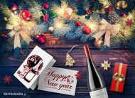 eKartki elektroniczne z tagiem: Darmowa kartka na Nowy Rok Noworoczne prezenty dla Ciebie,