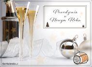 eKartki elektroniczne z tagiem: Darmowa kartka powodzenia Powodzenia w Nowym Roku!,