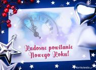 eKartki elektroniczne z tagiem: Darmowa kartka na Nowy Rok Radosne powitanie Nowego Roku,