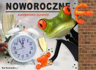 eKartki elektroniczne z tagiem: Darmowa kartka na Nowy Rok Szampañskie ¿yczenia!,