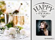 eKartki elektroniczne z tagiem: e-Kartki noworoczne Toast Noworoczny,