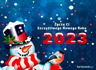 eKartki Nowy Rok Z noworocznymi życzeniami,