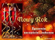 eKartki Nowy Rok Życzenia Szczęścia i Sukcesu,