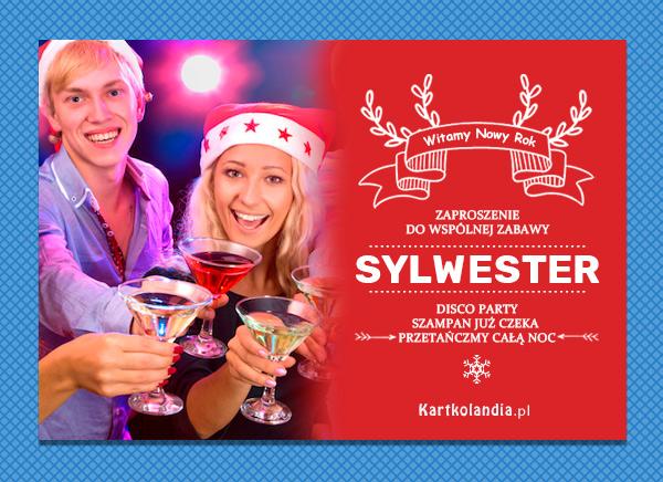 Zaproszenie na Sylwestra
