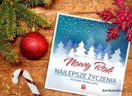 eKartki elektroniczne z tagiem: Darmowa kartka noworoczna Karteczka na Nowy Rok,