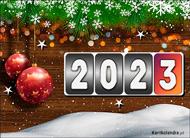 eKartki elektroniczne z tagiem: Darmowa kartka noworoczna Kartka na Nowy Rok,