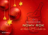 eKartki elektroniczne z tagiem: Darmowa kartka noworoczna Najlepsze noworoczne życzenia,
