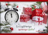 eKartki elektroniczne z tagiem: Darmowa kartka noworoczna Tuż przed północą ...,