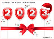 eKartki elektroniczne z tagiem: Darmowa kartka noworoczna Życzenia na Nowy Rok 2019,