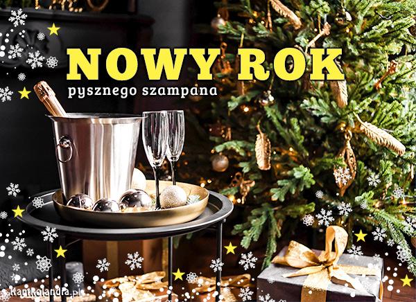 eKartki Nowy Rok Pysznego szampana!,