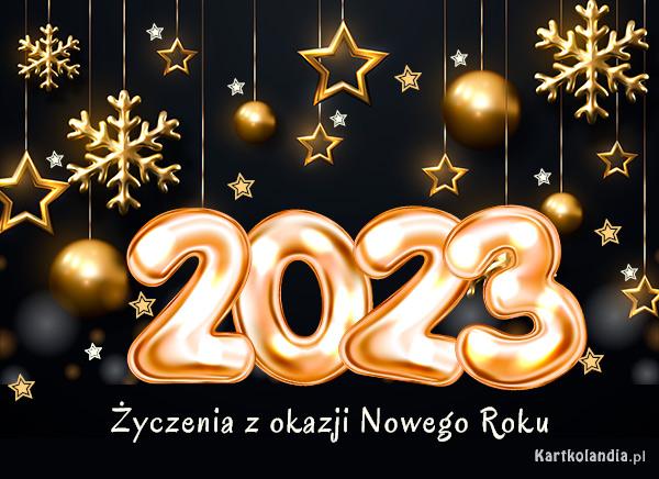 Życzenia z okazji Nowego Roku 2021