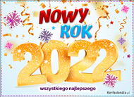 eKartki Nowy Rok Noworoczna kartka na 2021 Rok,