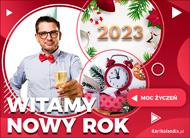 eKartki elektroniczne z tagiem: eKartka świąteczna Witamy Nowy Rok,