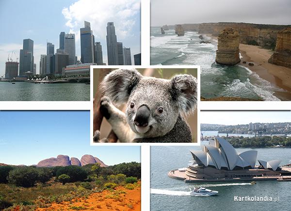 e-Kartka z Australii