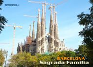 eKartki Państwa, Miasta Barcelona, Sagrada Familia,