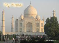 eKartki Pañstwa, Miasta Indie, Taj Mahal,