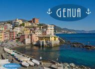 eKartki Państwa, Miasta Genua, Włochy,