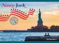 eKartki elektroniczne z tagiem: e-Kartka pozdrowienia Nowy Jork pozdrawia,