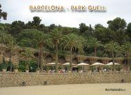 eKartki Państwa, Miasta Barcelona, Park Guella,