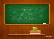 eKartki Różności Miłego powrotu do szkoły,
