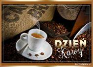 eKartki elektroniczne z tagiem: Kartki różne Dzień Kawy,