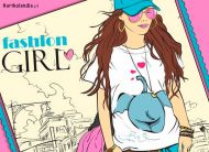 eKartki elektroniczne z tagiem: Darmowe kartki elektroniczne Fashion GIRL,