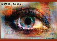 eKartki elektroniczne z tagiem: Kartki różne Mam Cię na oku,