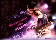 eKartki Różności Międzynarodowy Dzień Muzyki,