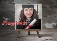 eKartki elektroniczne z tagiem: Darmowe kartki elektroniczne Pani Magister,