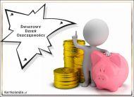 eKartki Różności Światowy Dzień Oszczędności,