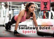 eKartki elektroniczne z tagiem: Kartki różne Światowy Dzień Sportu,