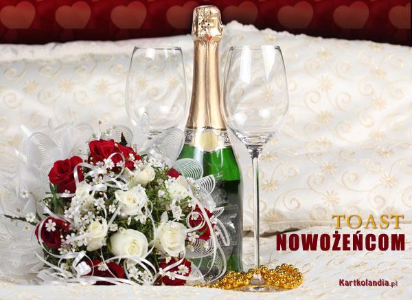 Toast nowożeńcom