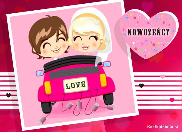Nowożeńcy w podróży