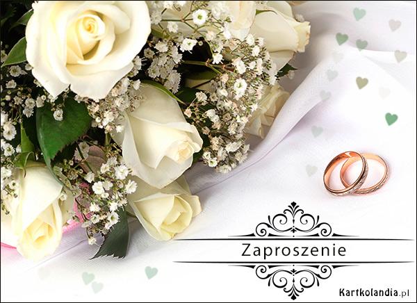 Ślubne Zaproszenie