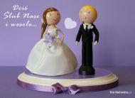 eKartki elektroniczne z tagiem: Kartka na slub Dziś ślub nasz ,