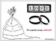 eKartki Ślubne Przyjmij moją miłość!,