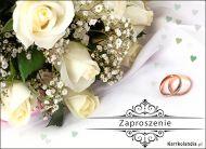 eKartki Ślubne Ślubne Zaproszenie,