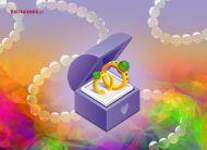 eKartki elektroniczne z tagiem: Kartka na slub Ślubuję Ci miłość,
