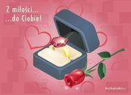 eKartki elektroniczne z tagiem: Kartka na slub Z miłości do Ciebie...,