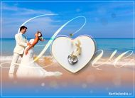 eKartki Ślubne Zakochana Młoda Para,