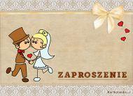 eKartki elektroniczne z tagiem: Darmowe kartki zaproszenia Zaproszenie Ślubne,
