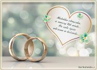 eKartki elektroniczne z tagiem: Kartki na ślub Maleńka obrączka,