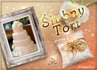 eKartki elektroniczne z tagiem: Kartki na ślub Ślubny Tort,