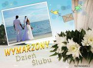 eKartki elektroniczne z tagiem: Kartki na ślub Wymarzony Dzień Ślubu,