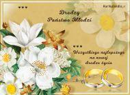 eKartki elektroniczne z tagiem: e-Kartka na ślub Drodzy Państwo Młodzi,