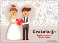 eKartki Ślubne Gratulacje dla Młodej Pary,
