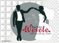 eKartki Ślubne Huczne wesele,